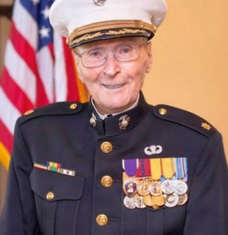 World's Oldest Living Marine Wants You to Be His Valentine!