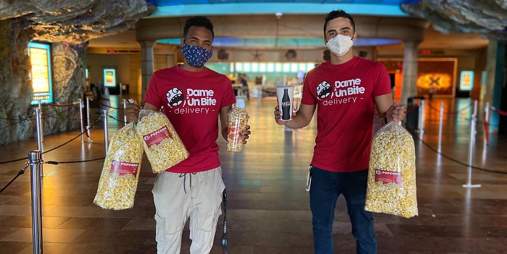 Dame Un Bite ahora hace delivery del popcorn de Caribbean Cinemas