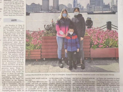 Au Pair Soraya's Experience in China during the COVID-19 An Exclusive Interview from a German media