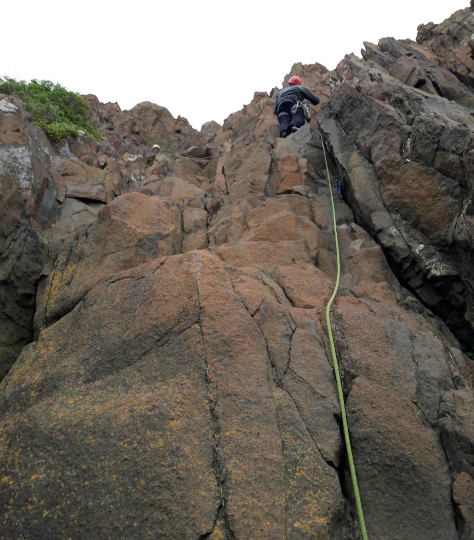 Hawscraig crag, Scotland