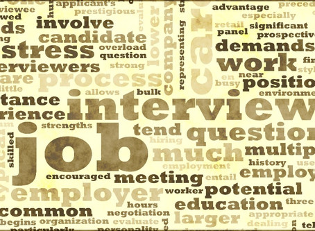 THE INTERVIEW - The crucial step of your professional future!