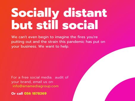 AMA Free Social Media audit for SME's