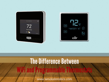 The Difference Between WiFi and Programmable Thermostats