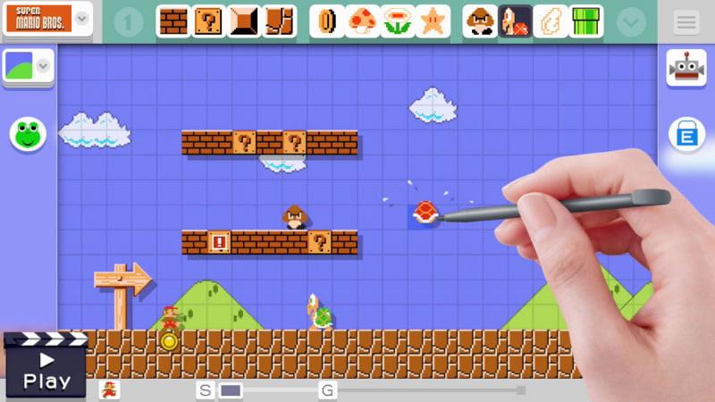 Jogo Super Mario Maker