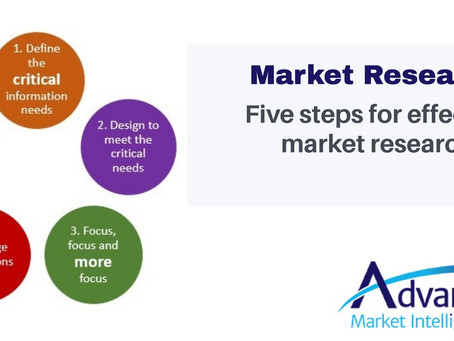 Five Steps for Effective Market Research