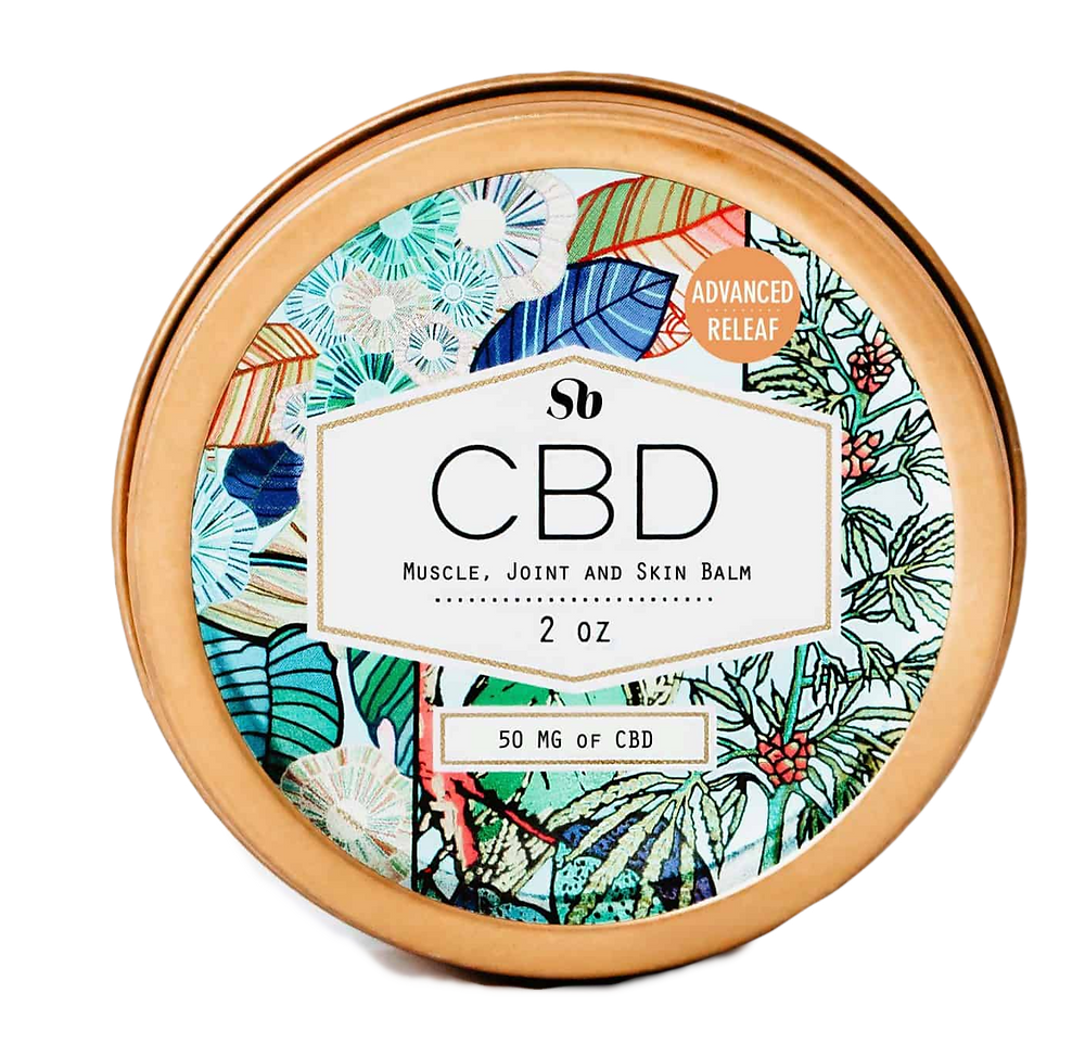 Sheabrand CBD Muscle, Joint, and Skin Balm