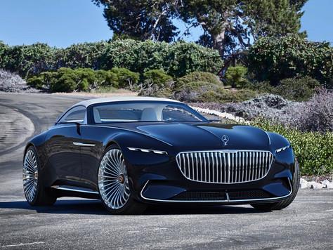 Mercedes-Maybach 6 — электромобиль