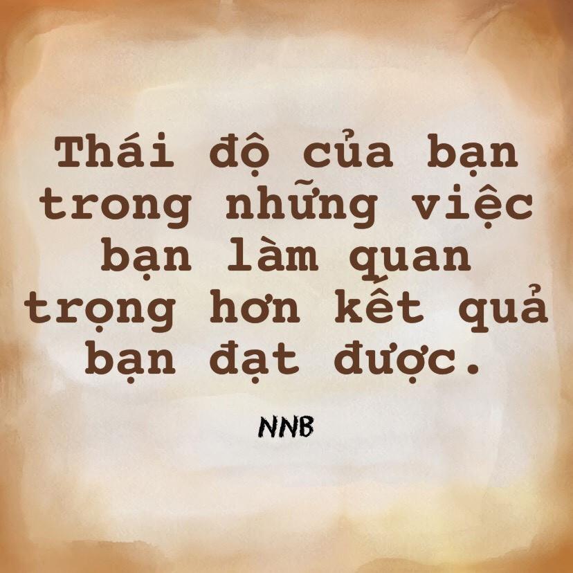 Tầm quan trọng của thái độ Nguyễn Như Bình