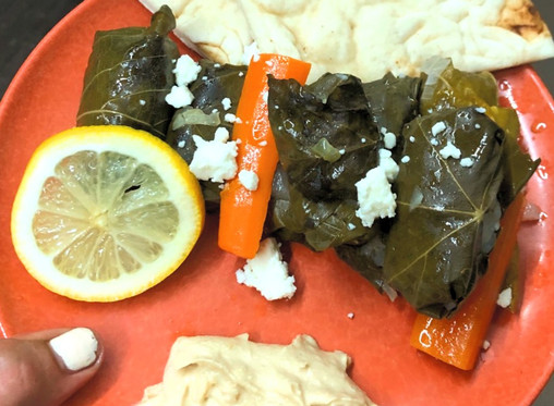 Delicious Lamb Stuffed Leaves Of Grapes
