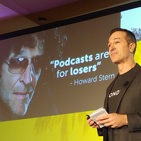 Wondery CEO Announces the Podcast Academy Awards During Keynote Speech