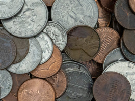 """The United States is having a """"coin shortage""""????."""