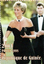 """Princess Diana Postal Commemorative Sheet Of 9 Stamps Issued By Guinea, Diana - Princess Of Wales 1961 - 1997"" by France1978 is licensed under CC BY-SA 2.0"