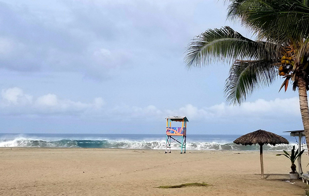 Plage Zicatela Puerto Escondido