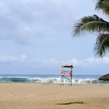 Sea, Surf & Sun à Puerto Escondido, Mexique