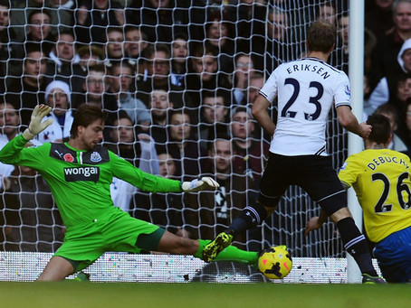 Tottenham 0-1 Newcastle - Krul & The Gang!