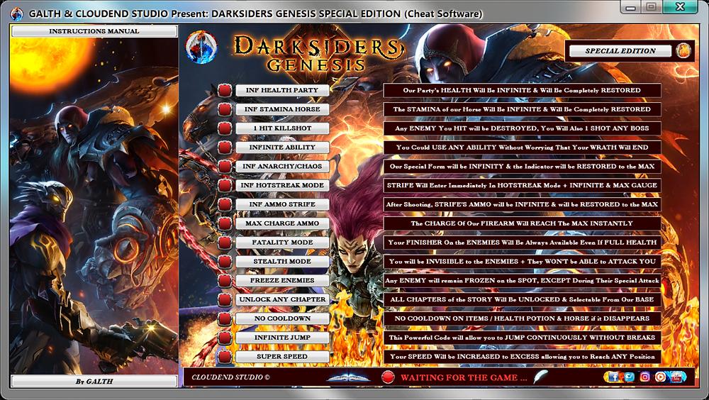 cloudend studio, Darksiders Genesis, Darksiders Genesis Gameplay, Darksiders Genesis Trainer, save editor, cheats trainer, super cheats, cheats, trainer, code, mod, tips, steam, pc, facebook, cheat engine, cheat table, free, script, tool, gameplay, game, dlc, unlock, 100%, fearless revolution, wemod, fling trainer, mega trainer, mega dev, rpg, achievements, cheat happens, engaños, betrügen, trucchi, complete guide, news, Youtube Game, Google Stadia, Trickster Keys, Boatman's Coins, Souls, Cores, Arena Points, Darksiders Genesis Arena,