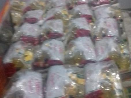 A Boaçãonaria negociou e já comprou as 38 cestas básicas para o município de Bom Jardim