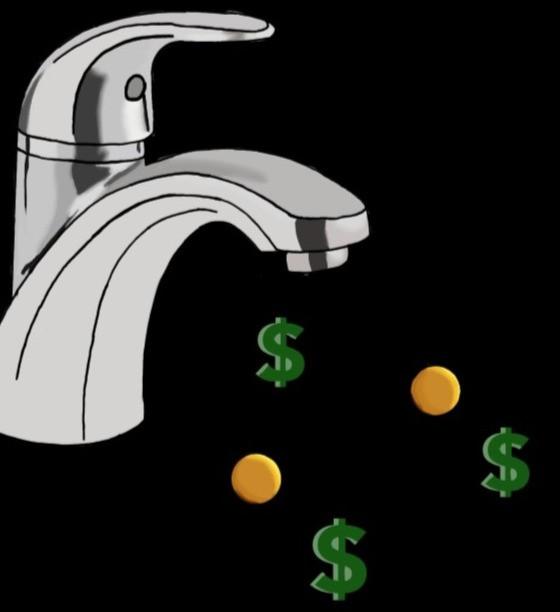 faucet cash flow