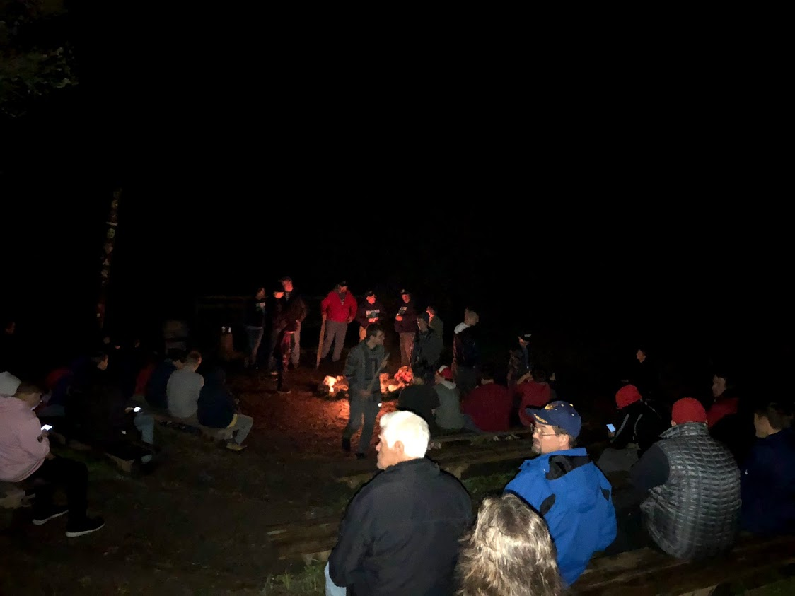 Campfire at Fall Fest
