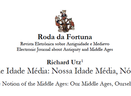 Bárbara Roma translates: The Notion of the Middle Ages: Our Middle Ages, Our Selves