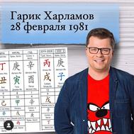 Столп личности Огонь Инь на Быке 丁丑 Гарик Харламов
