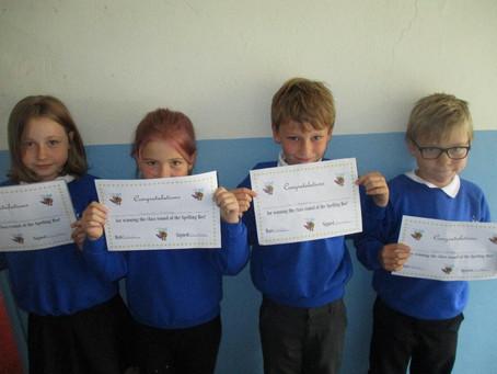 Spelling Bee Class Winners