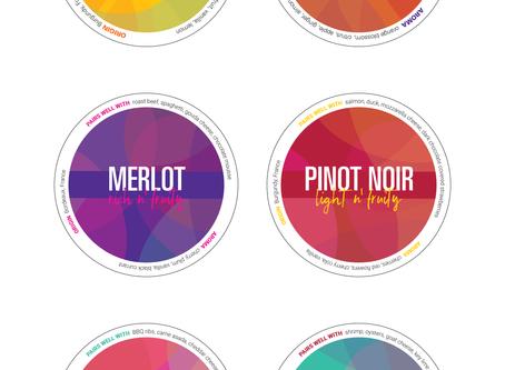 Coaster/Wine Bottle Design Draft Updates