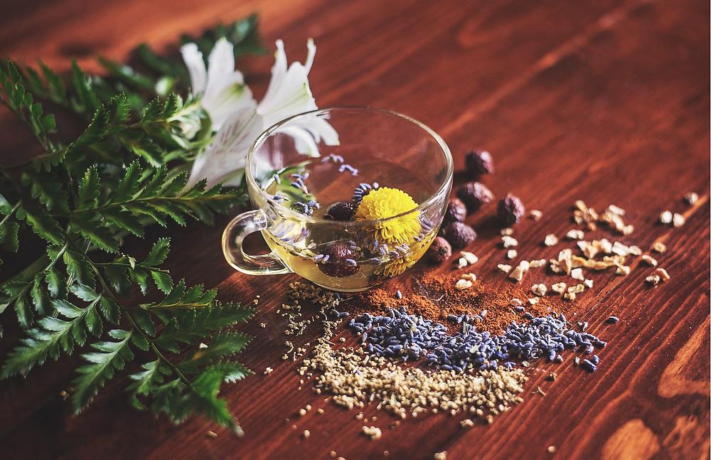 The art of blending herbs, herbal tea, herbs