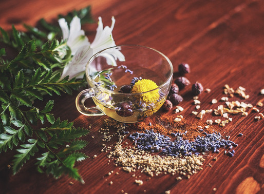 THE ART OF BLENDING HERBS, WITH BRITTNEY SMITH.