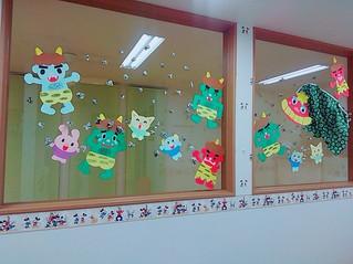 今月の壁面(^o^)