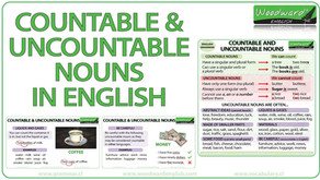 Nouns : Countable & Uncountable