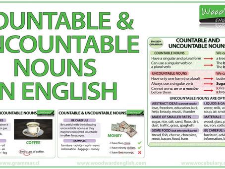 Nouns : Countable & Uncountable