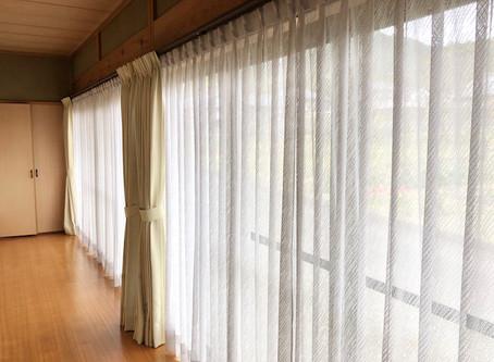 カーテン掛け替え工事