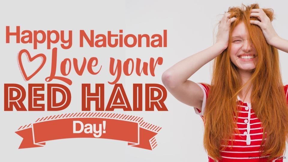 Natural redheads only. No fake red hair. No bottled red hair. No brunettes allowed!