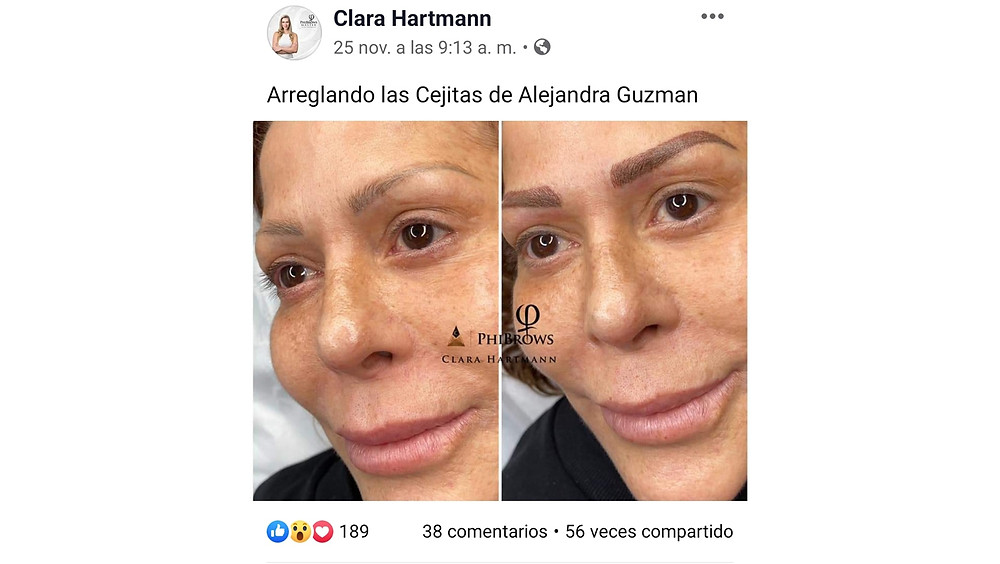 Alejandra Guzmán dos close ups.