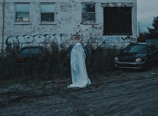 Reaching Across The Veil Between Worlds: A Samhain Ghost Story