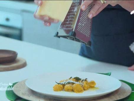 Cocina saludable - Gnochi de ahuyama