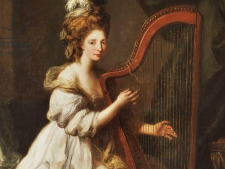 The tangible and the transient: (re)constructing musics of the harp