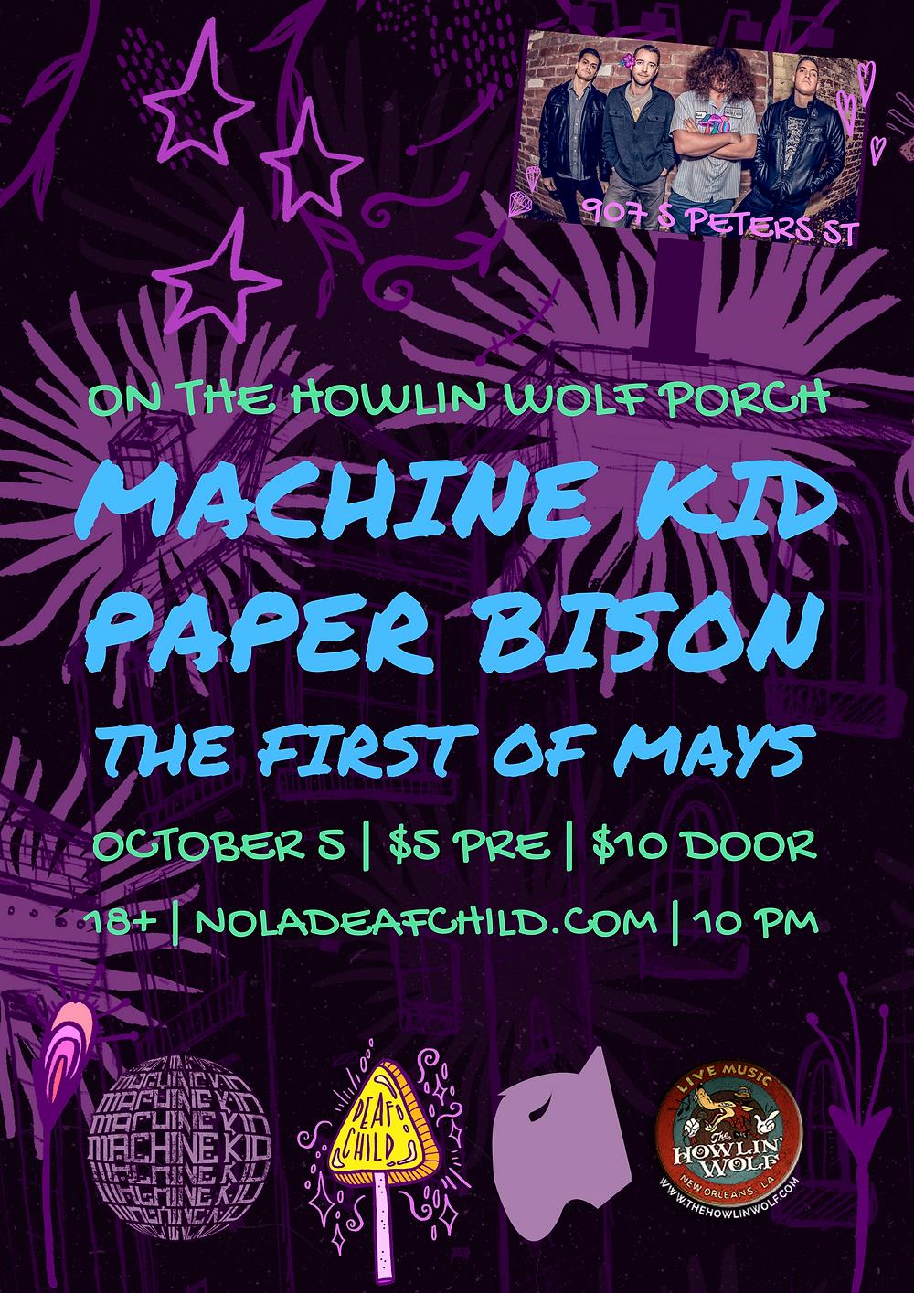 Machine Kid + Paper Bison