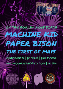Machine Kid + Paper Bison