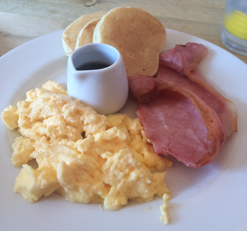 Breakfast dish from Northpoint cafe in St Andrews, Scotland