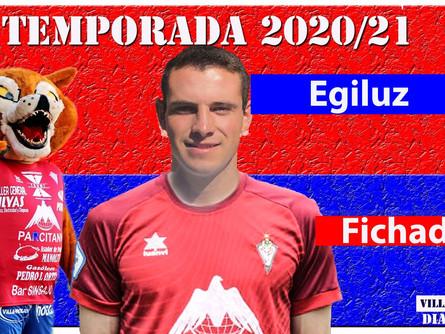 El joven centrocampista Ander Egiluz es nuevo jugador del CP Villarrobledo