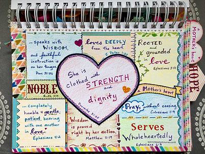 A Mother's Heart in biblequiltjournal.jp