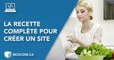 Comment créer un site Web professionnel - La recette complète!