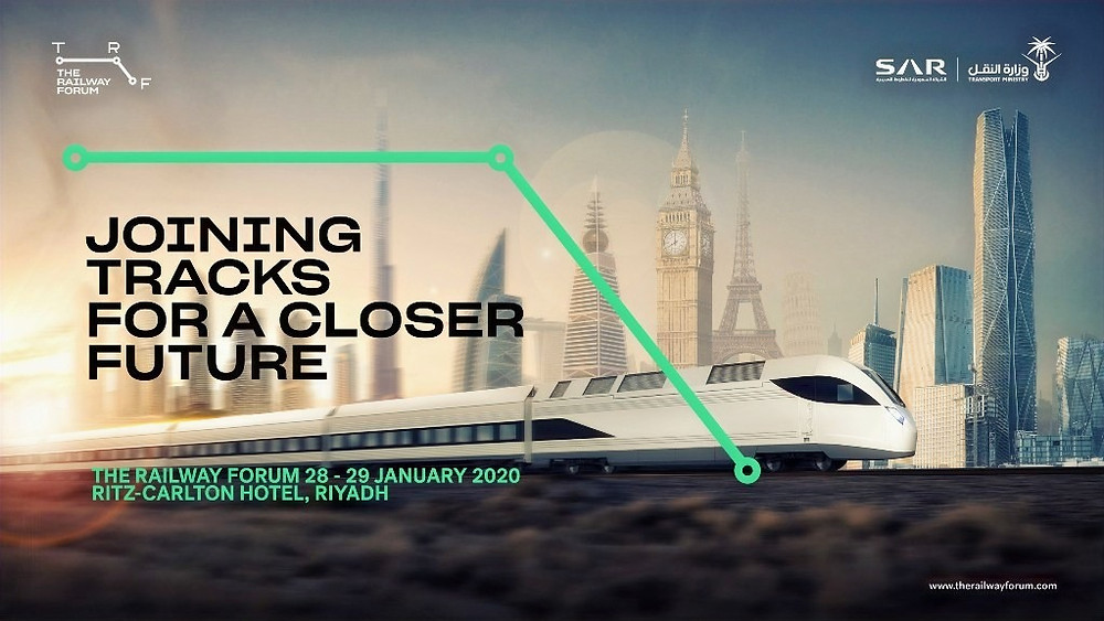 Ministers and international executives talk about the 2020 Railway Forum