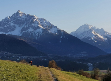 Walking in Tirol. COVID-19 Times in the Heart of the Alps.