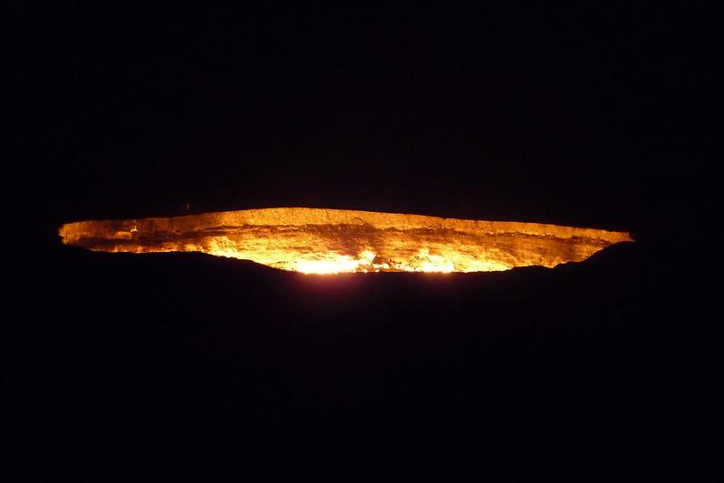 turkménistan porte de l enfer darvaza