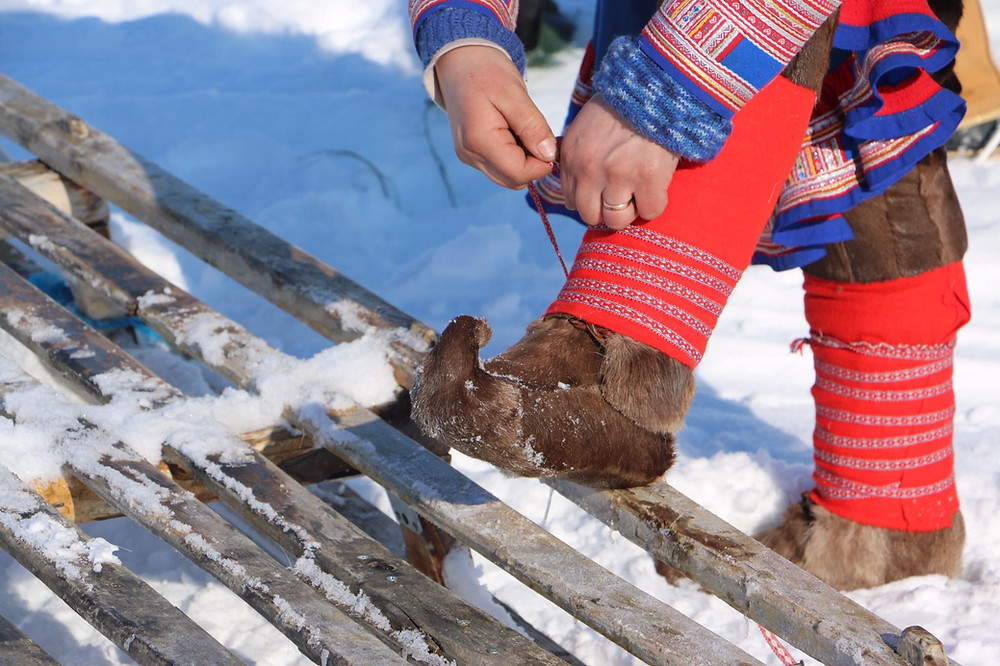 Explore the Sami culture & reindeer herding with the Sami in Finnmark, Norway