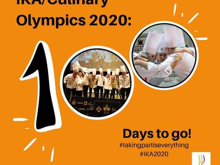 100 de zile până la Olimpiada Mondială de Gastronomie Stuttgart 2020 !