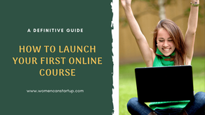 How To Launch Your First Online Course - The Step By Step Guide(2020)